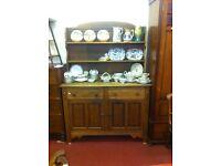 Old Oak Kitchen Dresser