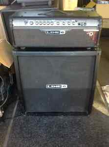 Line 6 head Spider 111 and 4x12 LOUD & PROUD