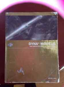 2006 SERVICE MANUAL DYNA MODELS  and  OWNER'S MANUAL DYNA MODEL