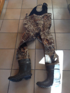 LACROSSE CHEST WADERS-only used once