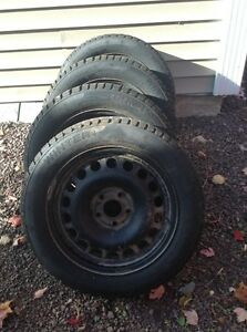 "16"" winter tires on rims"