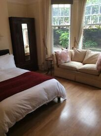 huge double room in putney for one