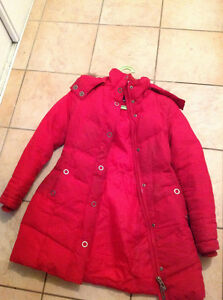 Manteau d'hiver long rouge chaud- laura petite Gatineau Ottawa / Gatineau Area image 1