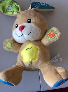 Talking plush toys - french