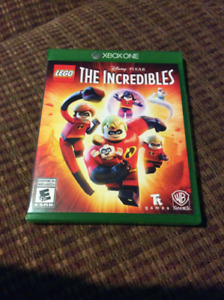 Lego the incredibles for Xbox one adult owned like new obo