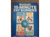 Men's health workout books set