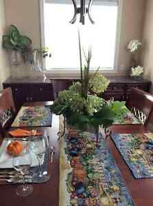 New Fall placemat sets, runners,napkins, matching napkin rings Edmonton Edmonton Area image 1