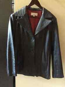 Womens Leather jacket -medium