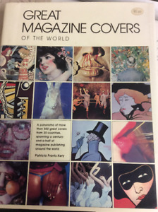 "Coffee table book ""GREAT MAGAZINE COVERS OF THE WORLD"""