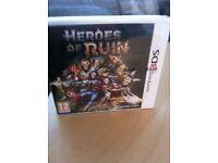 Brand new 3 DS Heros of ruin