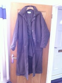 Harry Hall long riding coat Size M