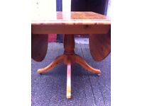 Pine table + 5 Chairs : free Glasgow delivery