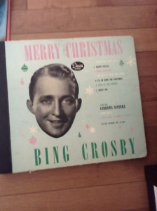 Bing Crosby 78 rpm records