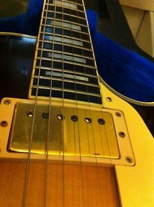 1979 Gibson Les Paul custom with chainsaw case  Cambridge Kitchener Area image 6