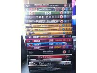 Collection of 20 DVDs - some unopened