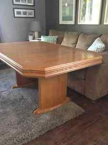 Large dining table for sale. Must go!