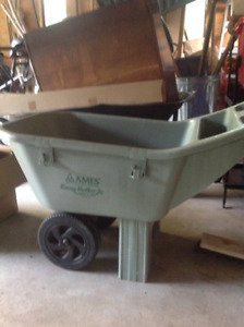 Ames easy roller wheel barrow