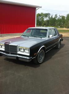 1986 Chrysler Other Grey Sedan