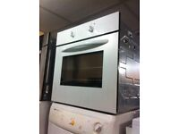 White electric single oven VERY CLEAN SALE ON TODAY warranty included
