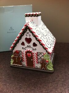 PARTYLITE XMAS GINGERBREAD HOUSE