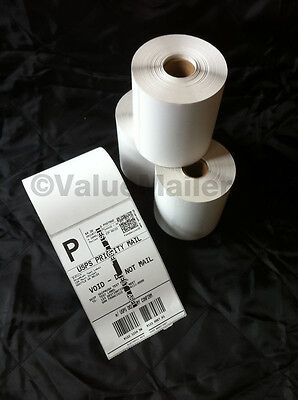 40 Rolls 250 Each 4x6 Direct Thermal Labels Zebra 2844 Eltron Zp450 ( Quality )