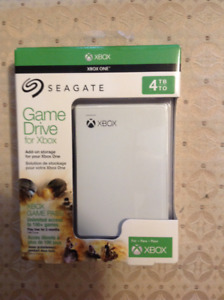 New Seagate Game Drive for Xbox One 4TB - White