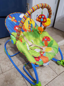 Infant to toddler seat