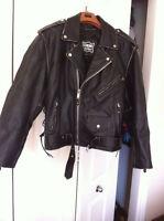 Manteau de cuir neuf ( Meilleur offre!!!!)
