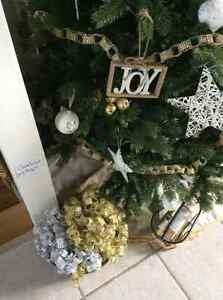Christmas Tree Ornament and Garland Sale