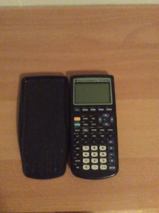 Calculatrice texas instruments TI-83 plus