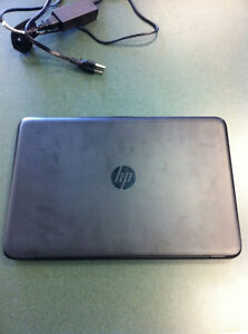 hp laptop only used 4 times.