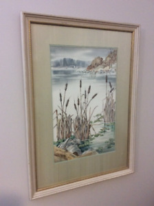 Mary Zwicker original large watercolour painting