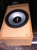 """15"""" and 12"""" subs and 2-amps and USB deck"""