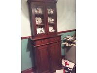 Antique wall unit