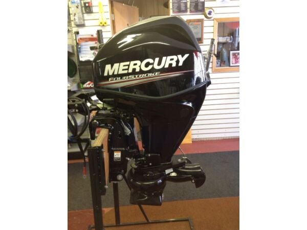 Used 2016 Mercury 25 Hp jet electric start EFI four stroke outboard