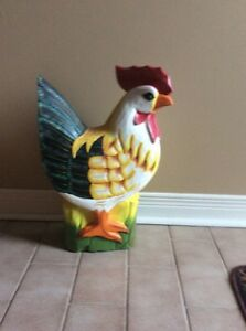 Wooden rooster Cornwall Ontario image 1
