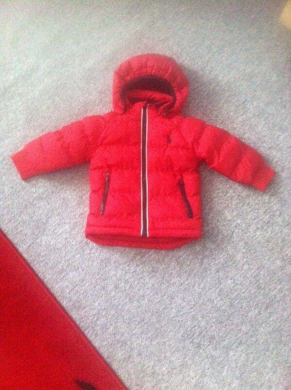 Baby Ralph Lauren coat 6-9 months