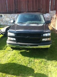 2004 chevy silverado part out