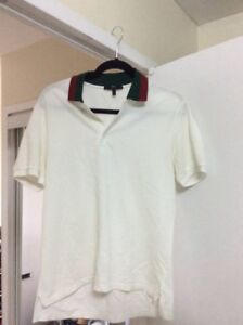 100% Authentic Gucci Polo Shirt white