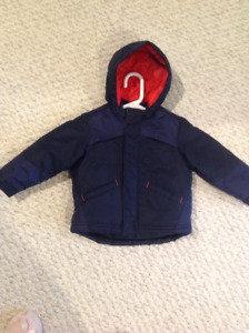 Toddler Boys Winter Jacket Size 2T BRAND NEW