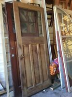 Exterior Wood Doors - Various (with windows)