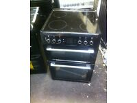 ELECTRIC COOKER BLACK FREESTANDING BEKO COMES WITH A STORE WARRANTY -BLACK BEKO £210 ELECTRIC