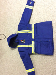 FR. coverall. Insulated FR Jacket
