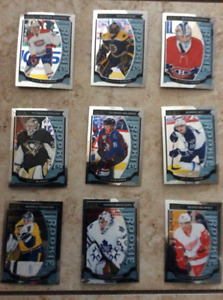 Lot of 9  O-Pee-Chee Platinum Rookie Cards