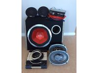 Complete working car audio system