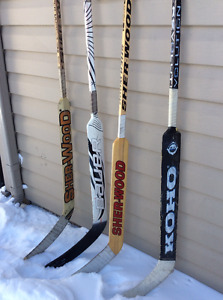 Goalie sticks