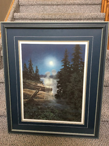 James Lumbers - Moonlight Embrace - limited edition autographed