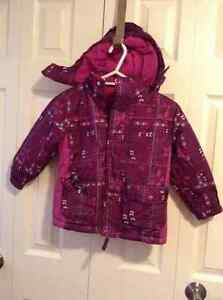 George winter coat with removeable hood - Size 4