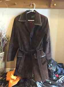 Women's Daniel Suede brown coat Kitchener / Waterloo Kitchener Area image 1