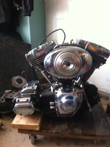 2006 Harley Twin Cam Engine And Transmission Combination